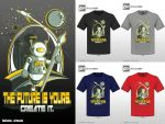 CREATE IT - VECTOR STYLE 4 SHIRTS by reyjdesigns