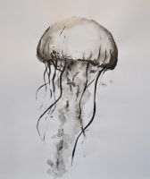 Ink Jellyfish 2 by Namiiru