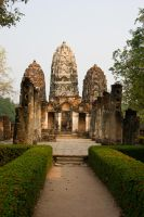 Wat Mahatat III by DeviantTeddine