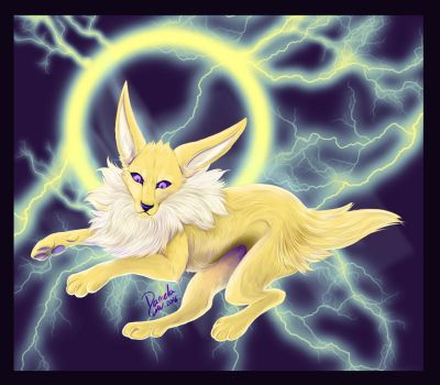 Jolteon by Lalobadelcrepusculo