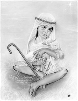 The Little Shepherd Boy by Katerina-Art