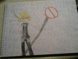 Drawing of Shizuo by Ask-Tith