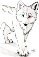 yin and yang wolf by Suenta-DeathGod
