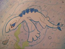 Lugia: Guardian Of The Seas by leafeon6692