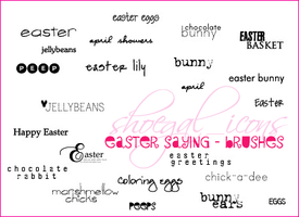 100x100 Easter Saying Brushes by kissncontrol