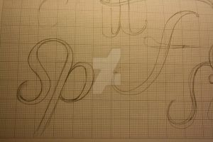Typeface Sketches 3 by Weegraphicsman