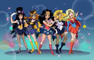 DC Sailor Scouts by Rocky-O