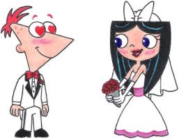 Phineas Finds Isabella Gorgeous by nintendomaximus