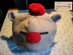 For Sale Moogle Hat by Hikarisworld