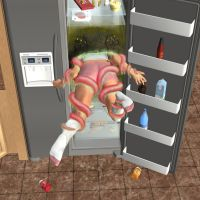 What Lurks Within The Fridge by Voremantic
