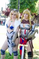 F13 - Queen's Blade by BlizzardTerrak
