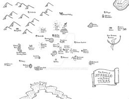 Fantasy map of Amarillo by Mapsburgh