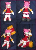 Amy Rose Plushie by Zero20-2