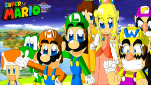 Mario and Friends and Rivals by FelixToonimeFanX360