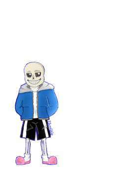 Sans the Skeleton by Electra-Fab-Cap