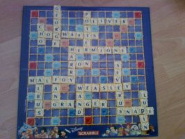 Harry Potter Scrabble by wynne1997