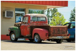 A Rusty Ford Truck by TheMan268