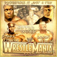 Wrestlemania 23 Dream Match by bacon111
