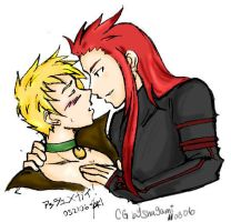 TOA- Guy X Asch -Colored- by Shagami