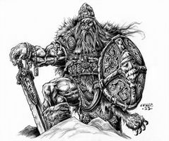 Viking Chieftain by vikingmyke