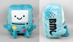 Adventure Time BMO Plush by SewDesuNe