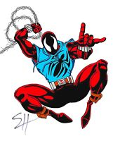 The Scarlet Spider by birdboy100