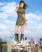 [Comm] Manhattan Giantess by angelgts