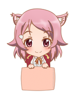 Project Chibi SAO Tag - Lisbeth by khimmymiii