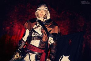 Edward Kenway - Red Shadow by Leon Chiro Cosplay by LeonChiroCosplayArt