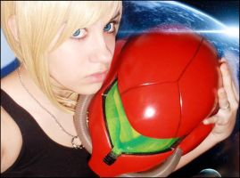Samus,the space warrior by McLeea