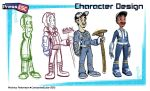 Press Esc: Character Design by AndrewArtist