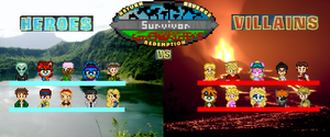 SFC: Heroes Vs Villains by shadow0knight