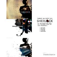 Sherlock 02 wallpaper pack by erebus-odora