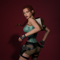 Classic Raider 30 by tombraider4ever
