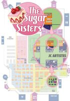 Japan Expo 2013: Map by drawingum