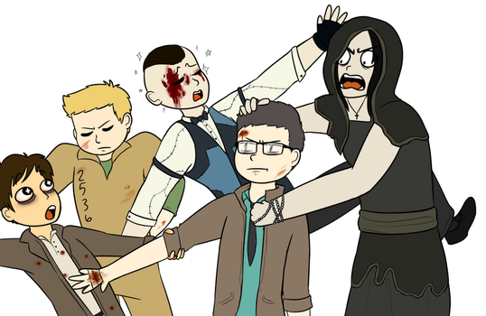 Outlast Squad by sodapoq