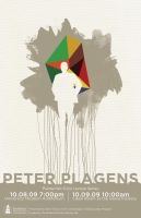 Peter Plagens VAP Poster by isthenewblack