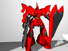 test render for my sazabi by jvgce