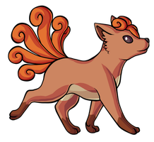 Vulpix by Ashteritops