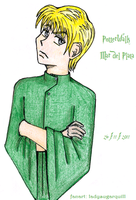 Frowny Draco for Potterwalk by ladysugarquill