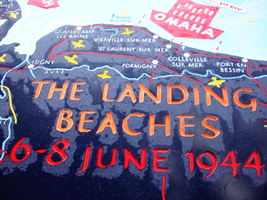 The Landing Beaches by bluetogray