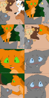 Cinderpaw loves Fireheart by AppleH0lic