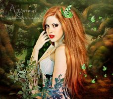 The green butterflys by annemaria48