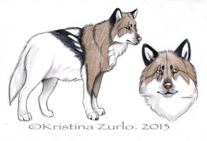 Wolf Adopt ( SOLD) by NatsumeWolf