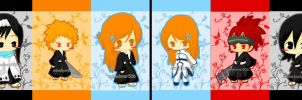Chibi Bleach by AnimeLover536