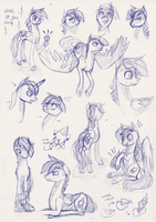 Pony!Danny Sketch by maltese101