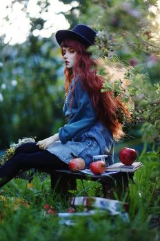 Eva with apples I by AzureFantoccini