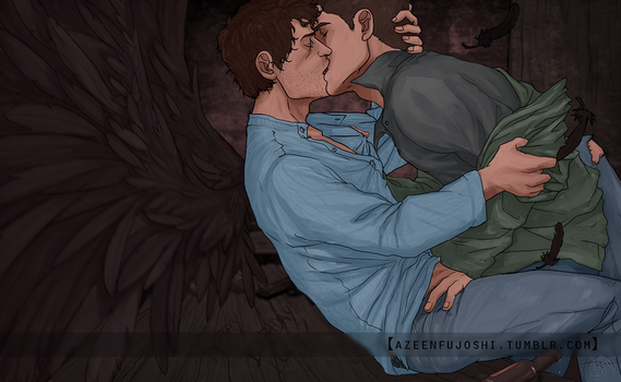 End!Verse Destiel Commission by DeerAzeen