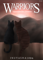Warriors: Pantherpaw's Journey Book Cover by CeruleanOasis