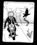 motorcycle punk by oby1916